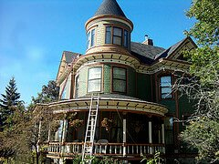 Beautiful Victorian work on historical building in Milton